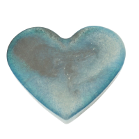 Turquoise Magnetic Heart