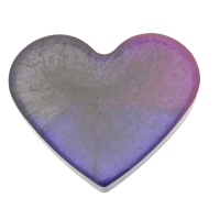 Purple Magnetic Heart