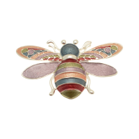 Magnetic Bee Brooch
