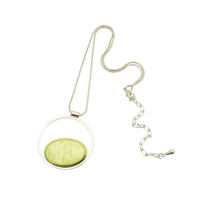 Lime Green Necklace