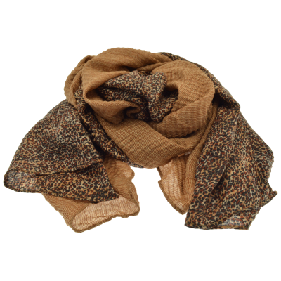 Taupe Mottled Scarf