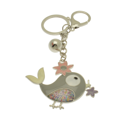 FKR235 Grey Bird Keyring