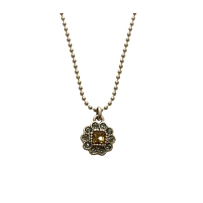 CN60 Topaz Crystal Necklace