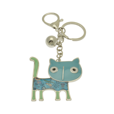 FKR236 Blue Cat Keyring