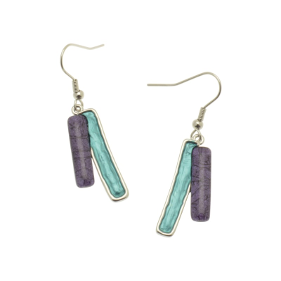 Teal Mix Earrings