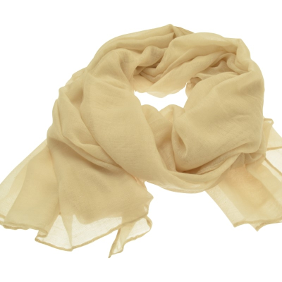 SC49 Cream Sparkle Scarf