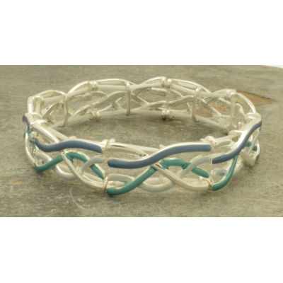 FB314 Blue Wave Bracelet