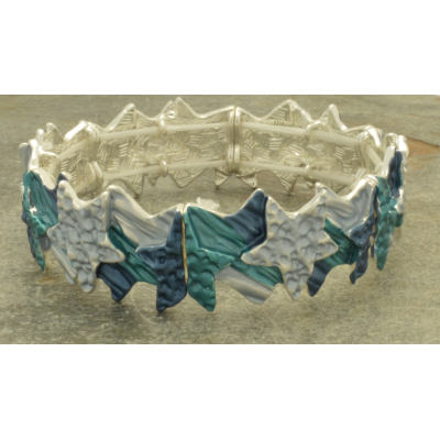 FB317 Blue Star Bracelet