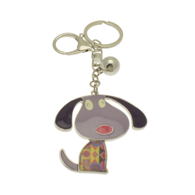 FKR237 Purple Dog Keyring