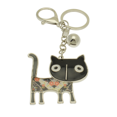 FKR236 Black Cat Keyring