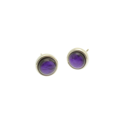 Purple Foil Resin Studs
