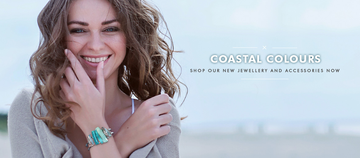 Coastal Colours - Shop our new jewellery and accessories now