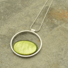Bright Green Necklace