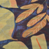 SC174 Yellow Abstract Floral Scarf Swatch