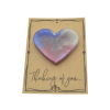 Multicolour Colour Magnetic Heart on Card