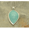 Mint Teardrop Pendant