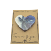 Magnetic Heart on Card
