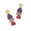 Dangly Purple Earrings