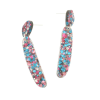 Multicolour Sparkle Drop Earrings