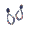 Blue Sparkle Earrings